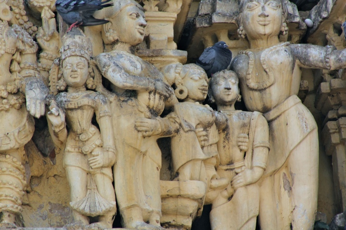 detalle templo belur 2